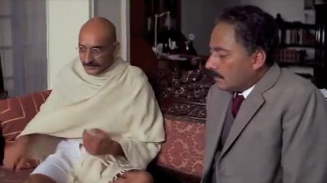 Gandhi Clip on the Salt March (teaching clip for non-violence and direct action). Read below.