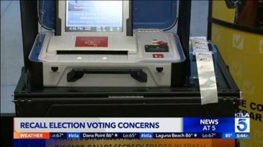 Election Fraud Is Happening in California