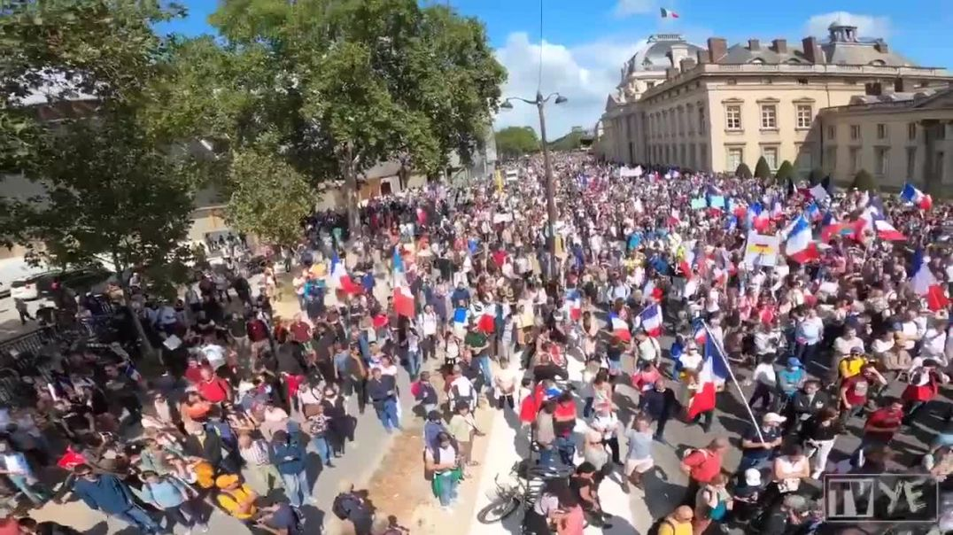 France stands for freedom Saturday September 4th 2021