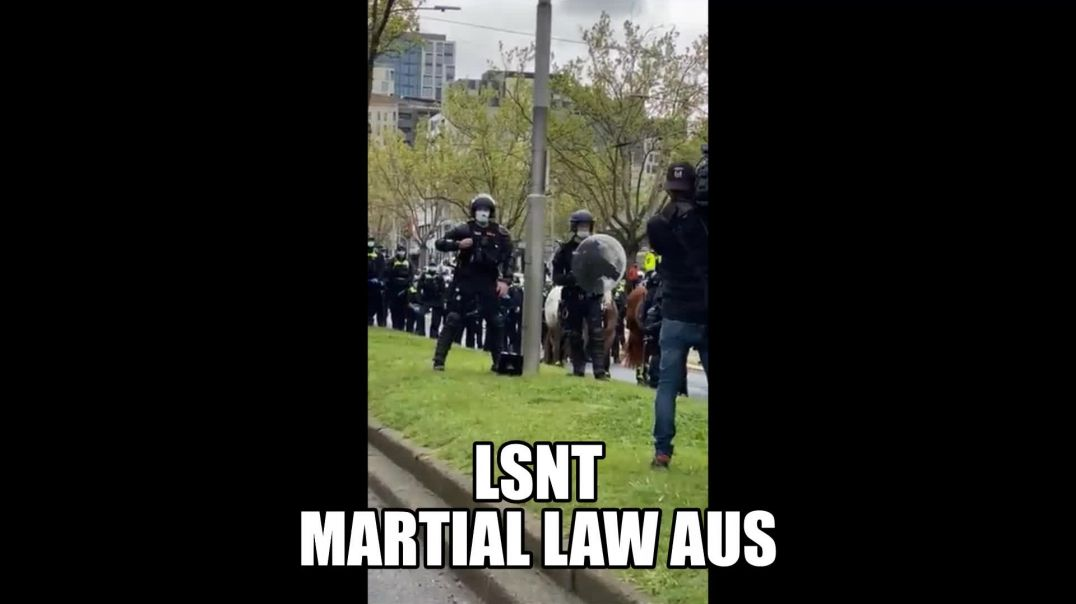 Chaos In Australia Welcome To NWO Martial Law NO CONSPIRACY