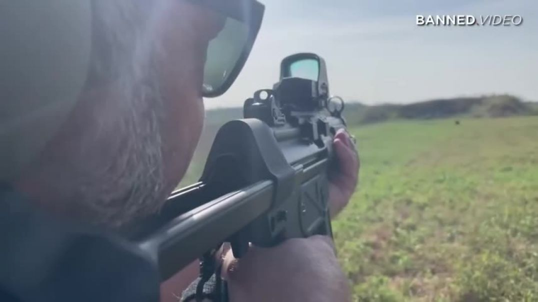 Shooting Targets At 100 Yards With A Hand Gun