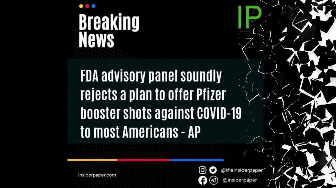 FDA rejects plan to offer Pfizer booster shots
