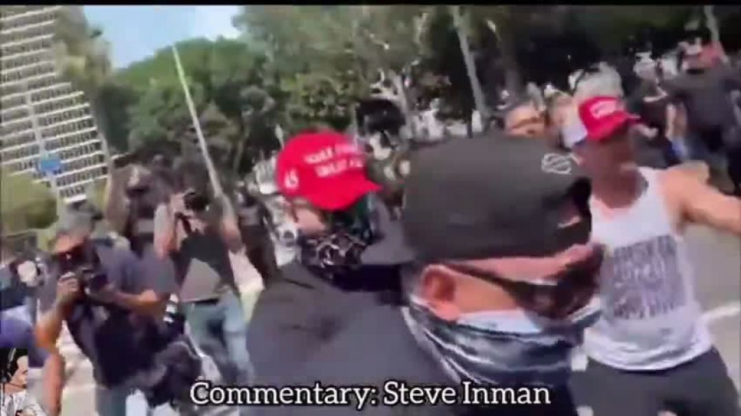 """""""ANTIFA GET THEIR ASSES BEAT"""" - (Humorous Commentary by Steve Inman)"""