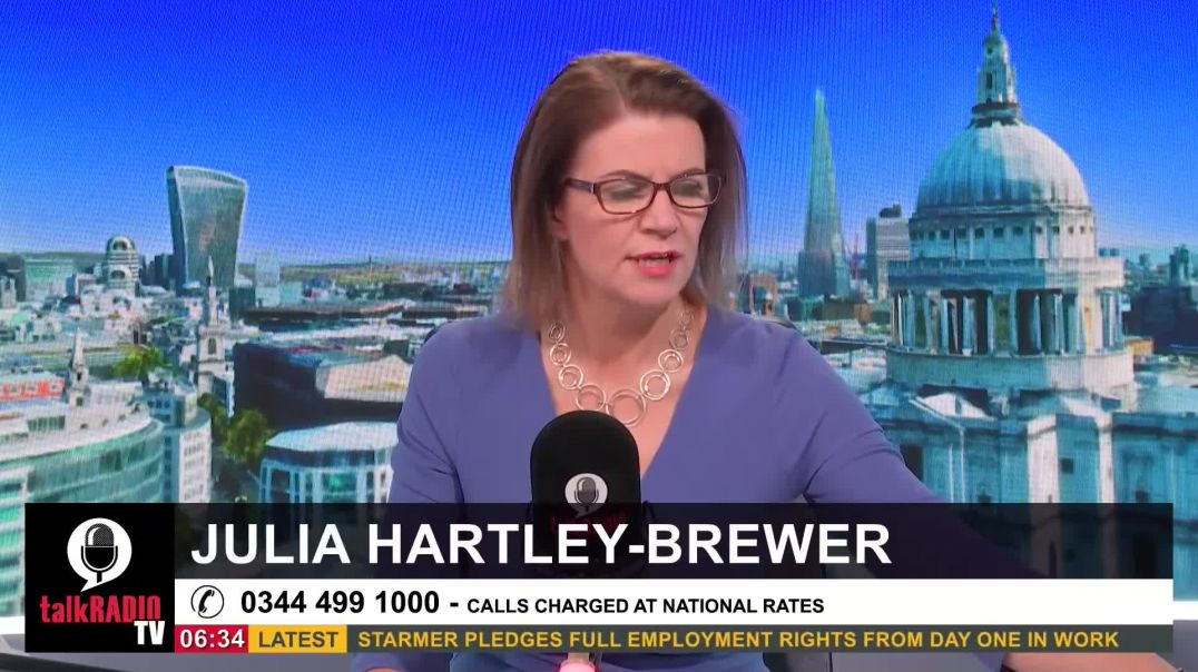 Julia's passionate response after Boris Johnson refused to rule out another lockdown