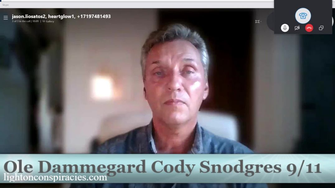 9/11 What Happened and Why - Ole Dammegard and Cody Snodgres Interview with Jason Liosatos