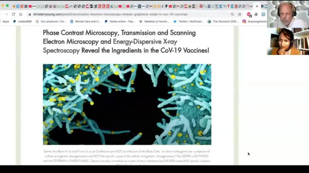 Dr. Robert Young - Scanning & Transmission Electron Microscopy Reveals Graphene in CoV-19 Jabs
