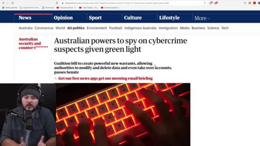 AUSTRALIA GOES FULL 1984, CRAMMING THROUGH NEW BILL TO TAKE OVER PEOPLES' DIGITAL DEVICES