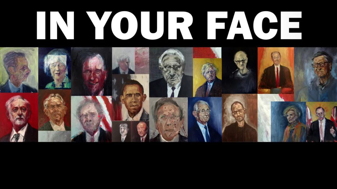 Facing It. Portraits of the influential, rich and powerful