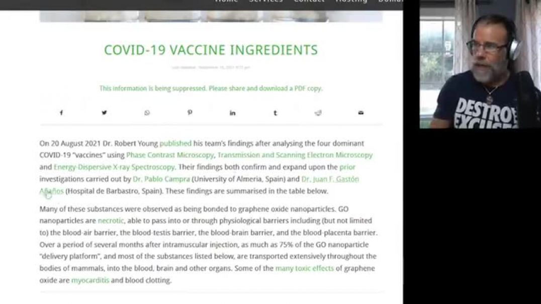 MUST SEE! VACCINE INGREDIENT LIST IDENTIFIED & EXPOSED!! GUESS WHAT'S IN EVERY ONE