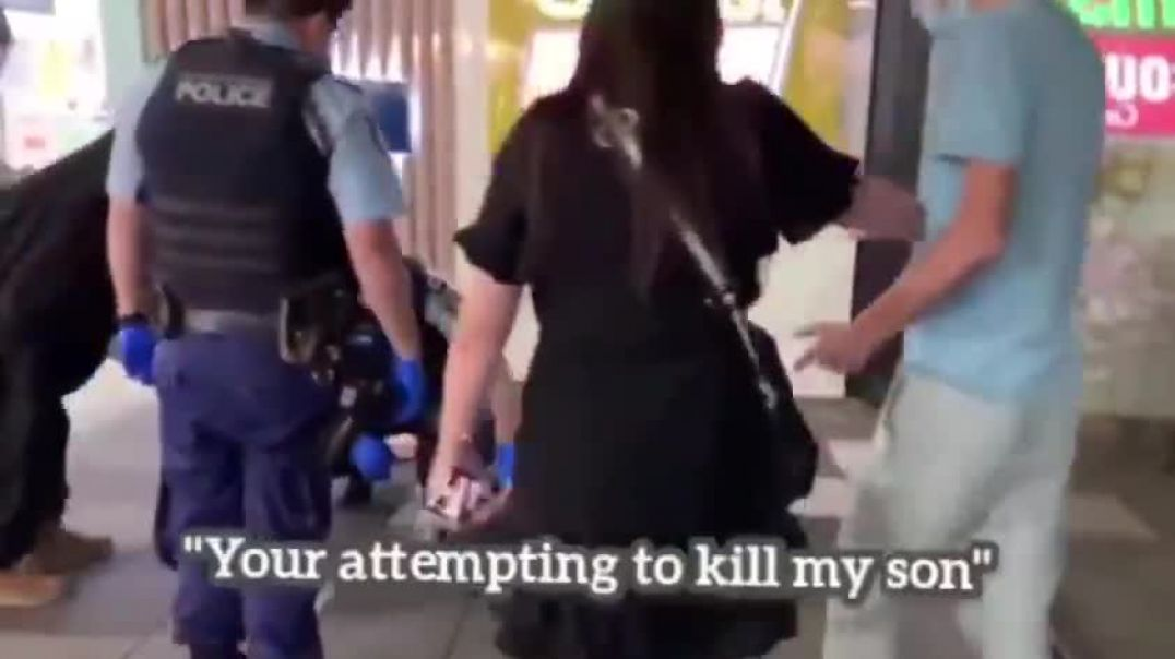 """SYDNEY MOTHER BEGS, """"REMOVE THE HANDCUFFS FROM DYING SON!"""" AS RIOT POLICE CONVERGE"""