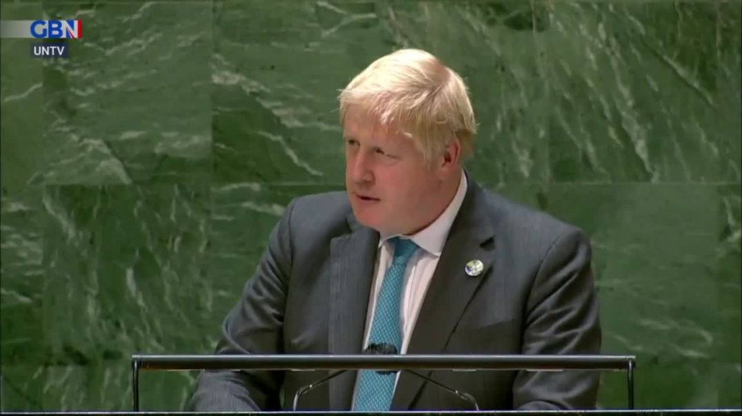"""BoJo quoting """"Kermit the Frog"""" at the UN assembly"""