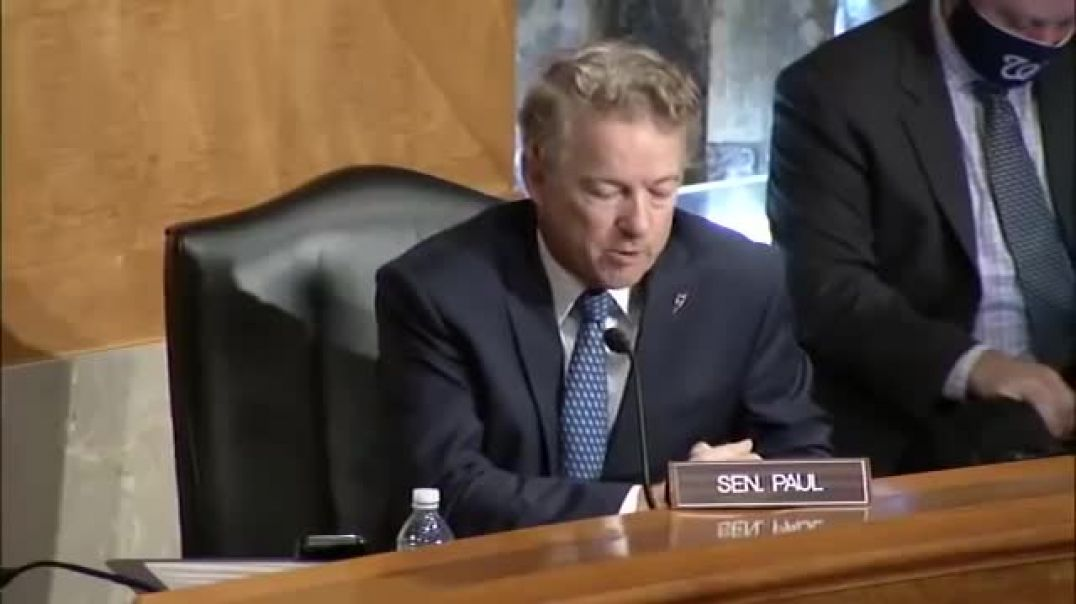 That's Not Justice': Rand Paul Confronts FBI Director Over 'Bias' In Trump 2016