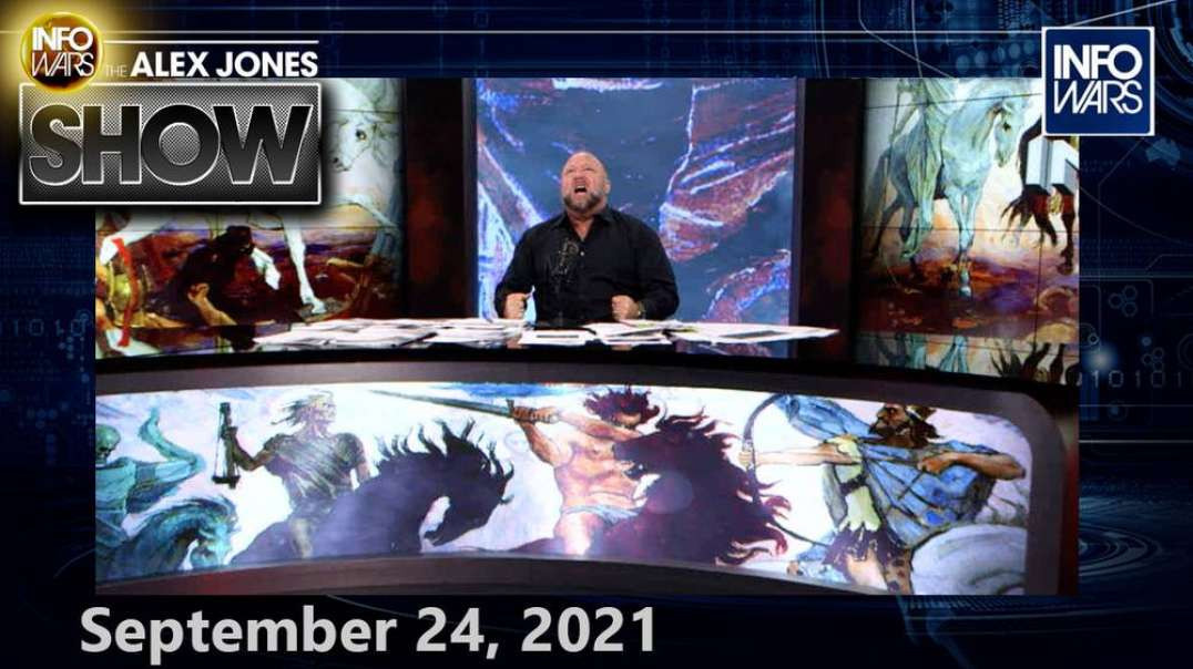 ALERT: Globalists Have Launched Their Post-Human, Planetary Extermination Plan - FULL SHOW 9/24/21