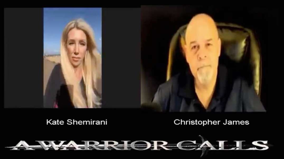 Kate Shemirani on A warrior calls with Christopher James  Monday, August 30th 2021 Live Stream