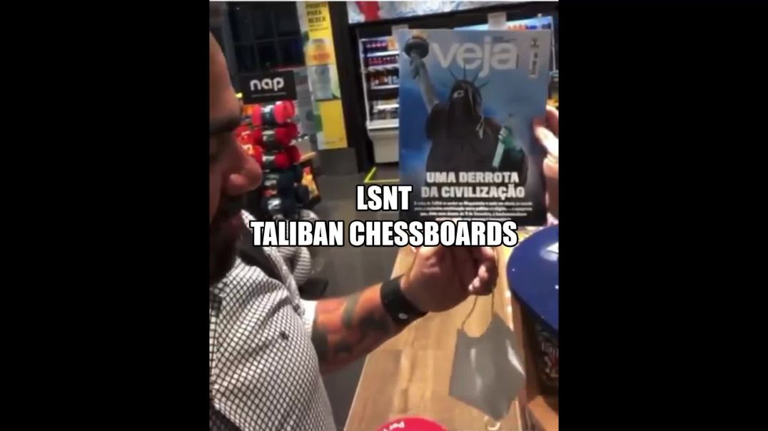 Statue of Liberty In A MUSLIM GOWN! Taliban On The Chessboards WARNING TO WORLD