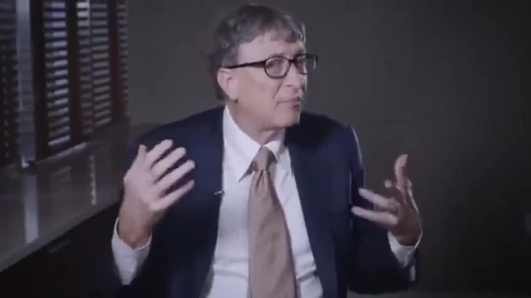 SMIRKING GATES SAYS HE WANTS TO KILL 10 MILLION EXCESS PEOPLE A YEAR