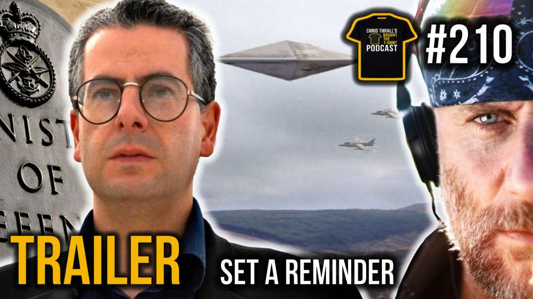 Real Life X-Files | Nick Pope | MOD Declassified | Bought The T-Shirt Podcast