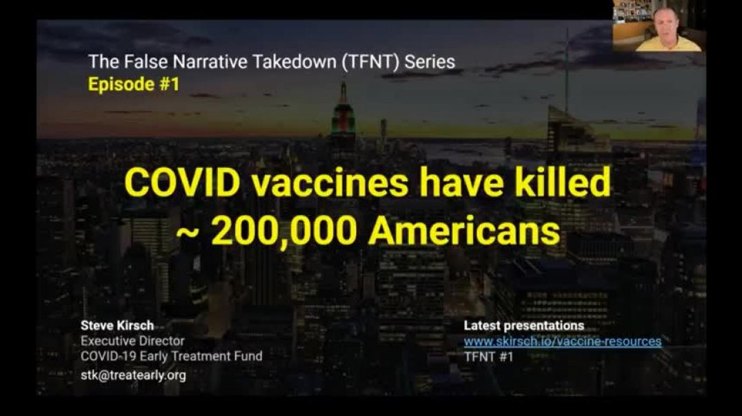 Covid vaccines have killed over 200,000 by Steve Kirsch