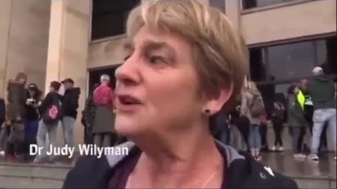 Dr Judy Wilyman your government is lying to you about masks and vaccines