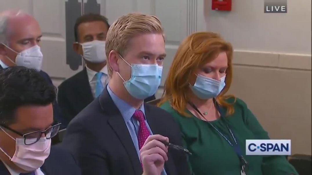 Jen Psaki Asked If Illegal Immigrants Are Required To Show Vaccination Proof