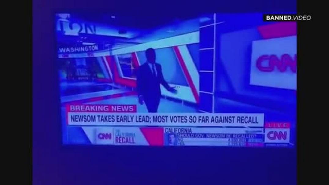 WTF! YES to Recall Drops 400K Votes LIVE on TV