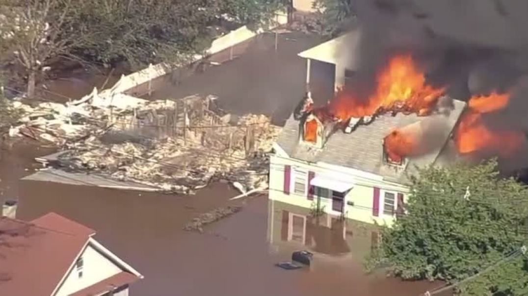 NEW JERSEY - GET ON THE BUS FLASH FLOODING AND FIRES! Ordo Ab Chao
