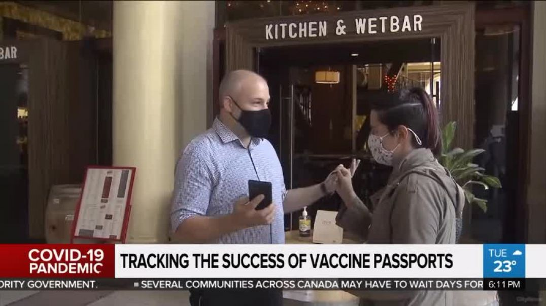 Ontario Introduces Jab Passport: It's All About Getting More People Jabbed