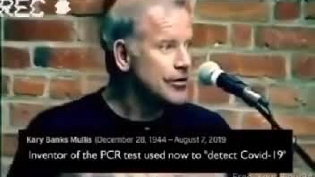 Kary Mullis and the PCR test