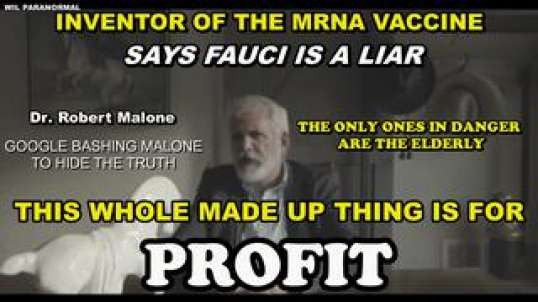 Dr. Malone Calls Out Fauci's Lies