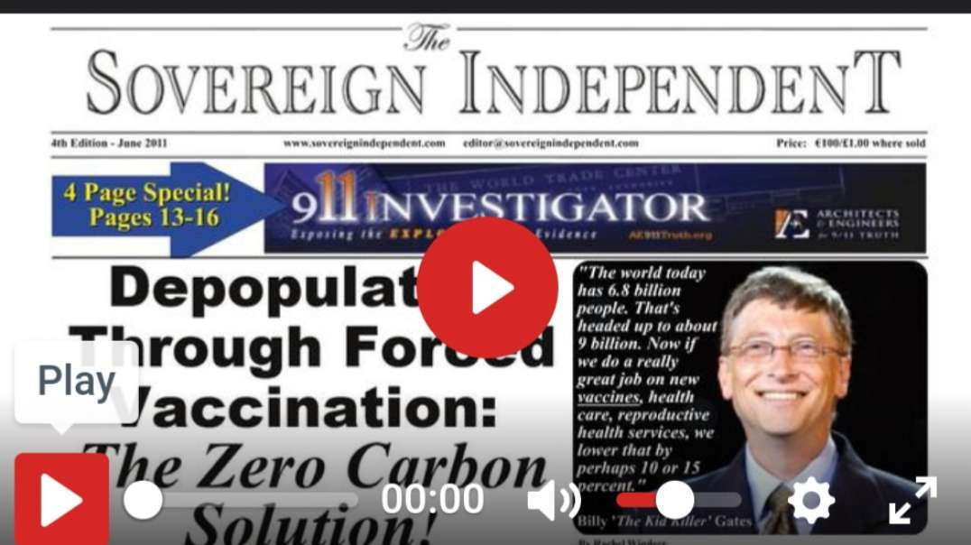 Planned Federal Forced Vaccinations