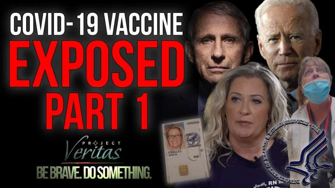 Federal Govt HHS Whistleblower Goes Public With Secret Recordings - Vaccine is Full of Sh*t!