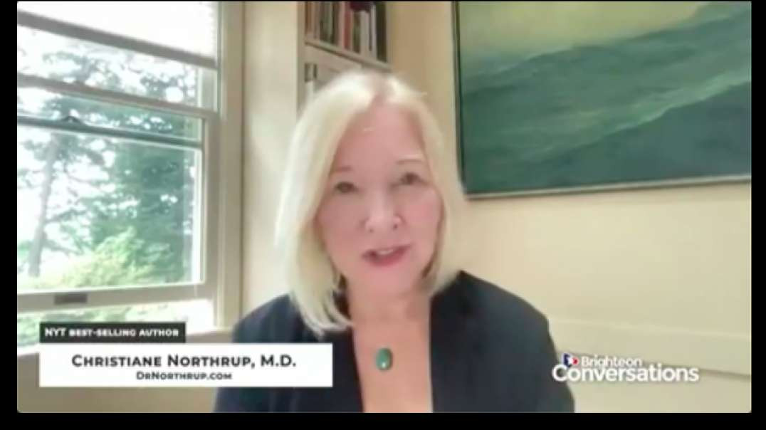 Dr. Christiane Northrup | Spirituality, C-19 Compliance and Mass OBEDIENCE