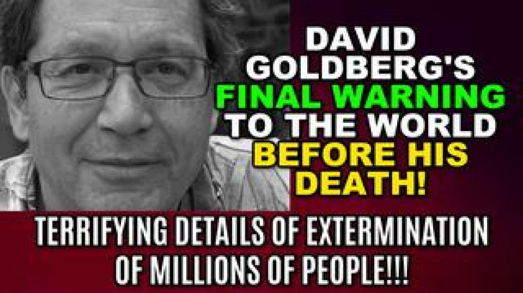 listen very carefully before COVID-19 was known this guy was murdered leaking US documents wakeup