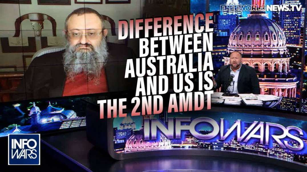 Dr. Zelenko: The Difference Between Australia and Us is We Have 450 Million Guns!