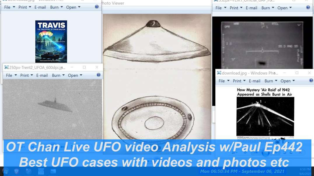 What are the Best UFO cases with video, photo, witnesses - UAP and Space Topics - OT Chan Live-442 -