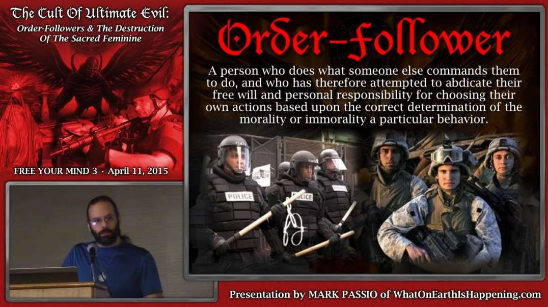 Mark Passio - The Cult Of Ultimate Evil