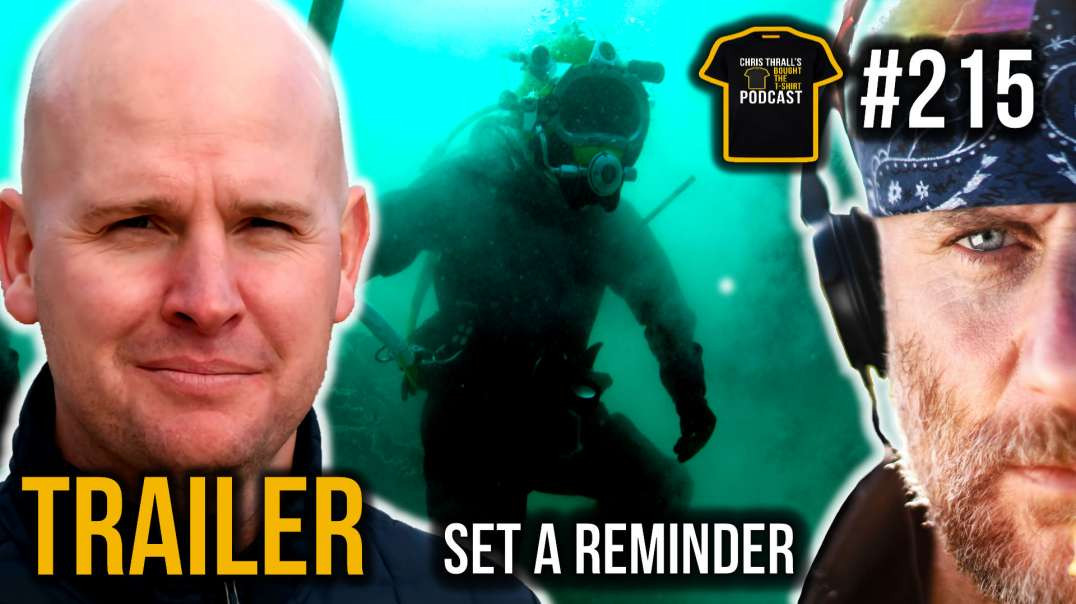 TRAILER | Last Breath On The Sea Bed | Chris Lemons | Bought The T-Shirt Podcast