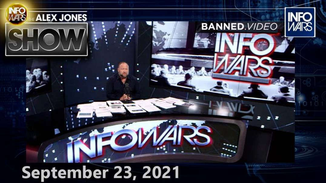 MUST SEE FULL SHOW! 9/23/21 - New Docs Confirm Globalists Released COVID-19 on Purpose