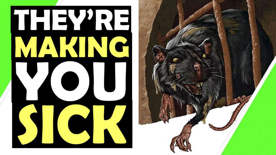 They Are Making You Sick / MSM Fear / #MonsterRats / Hugo Talks #lockdown
