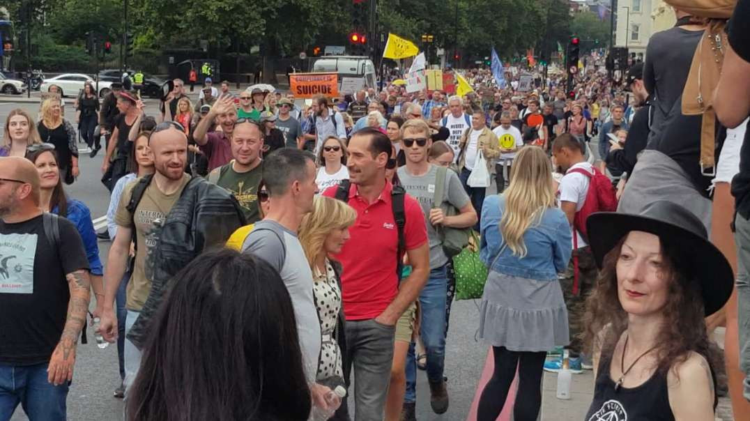 Medical Freedom March, Unite For Freedom Rally: London (28/08/21)