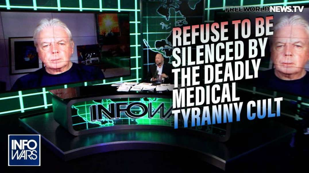 Trailblazer David Icke Lays Out the Road to Victory Against Globalist Medical Tyranny