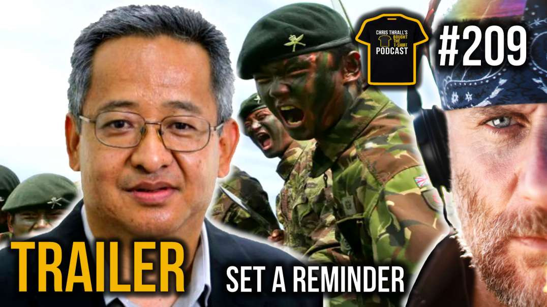 Better To Die Than Be A Coward | The Gurkhas | Tim Gurung | Bought The T-Shirt Podcast | TRAILER