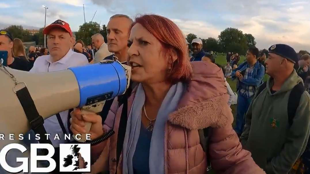 Sept 25th London Freedom Rally Protest Covid Vaccine Anna Buisseret TopExperts Presenting Affidavits