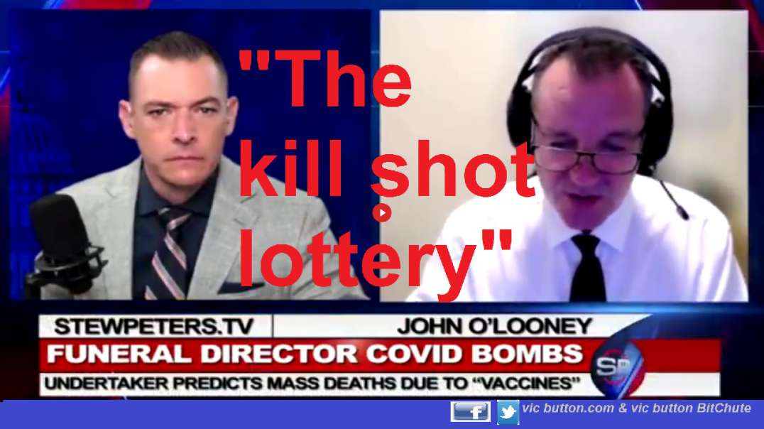 Stew Peters With John O'Looney - Mass Kill Shot Deaths, Child Danger, COVID Camp
