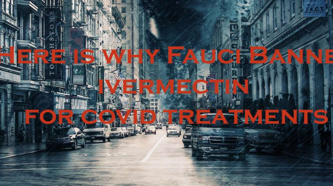 Here is why Ivermectin was banned