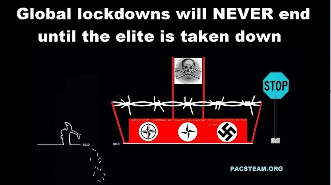 Global lockdowns will NEVER end until the elite is taken down