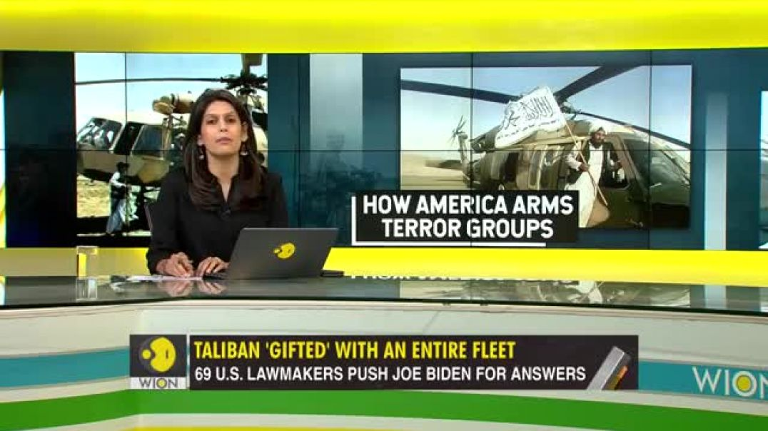 TALIBAN THANK USA for leaving behind US$85 billion in military equipment in Afghanistan