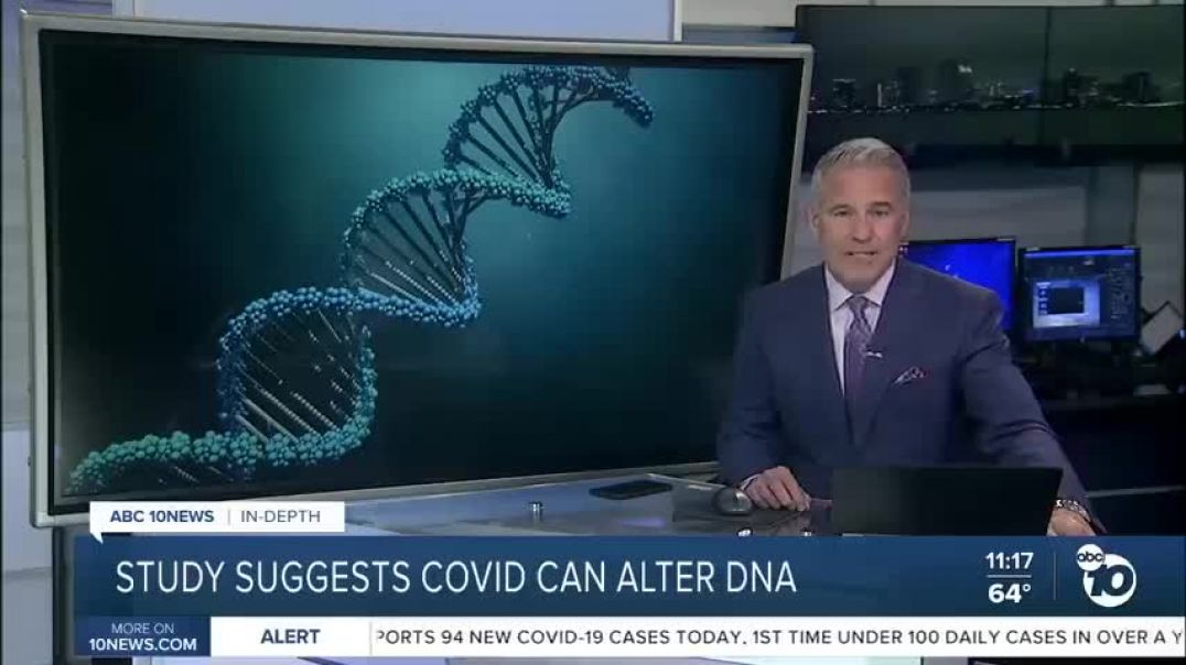 New Study Suggests COVID-19 Can Alter DNA!!