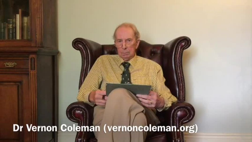 Your Government Doesn't Care about Your Health (Coleman's 8th Law of Medicine) Dr Vernon C