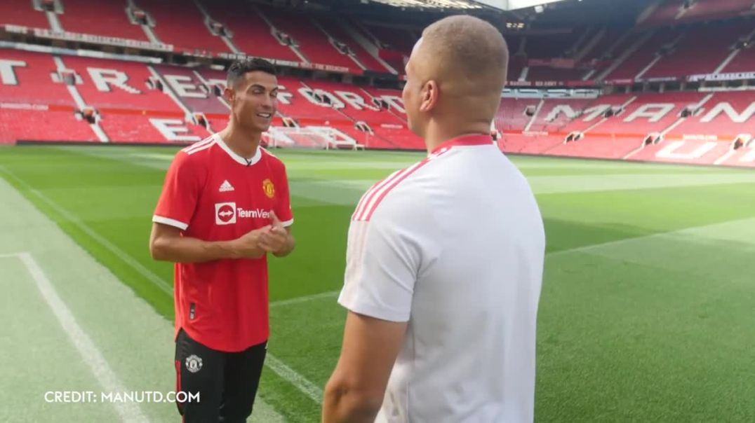 _Im here to win AGAIN!_ _ Ronaldo on his return to Man Utd and reuniting with Ole & Carr